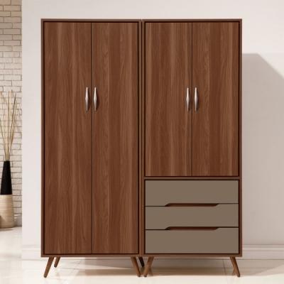 H&D 米蘭5尺組合衣櫃