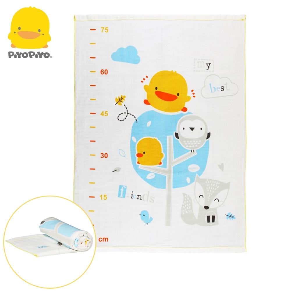 黃色小鴨《PiyoPiyo》長型雙層紗布浴巾