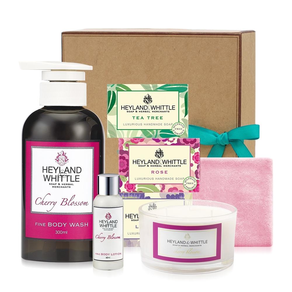 H&W英倫薇朵  櫻花香氛禮盒