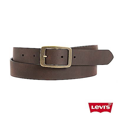 Levis 皮帶 女款 時尚針扣 牛皮皮革