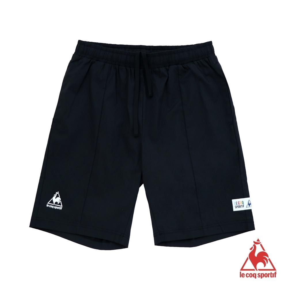 法國公雞牌休閒短褲 LHL8140499-男-黑
