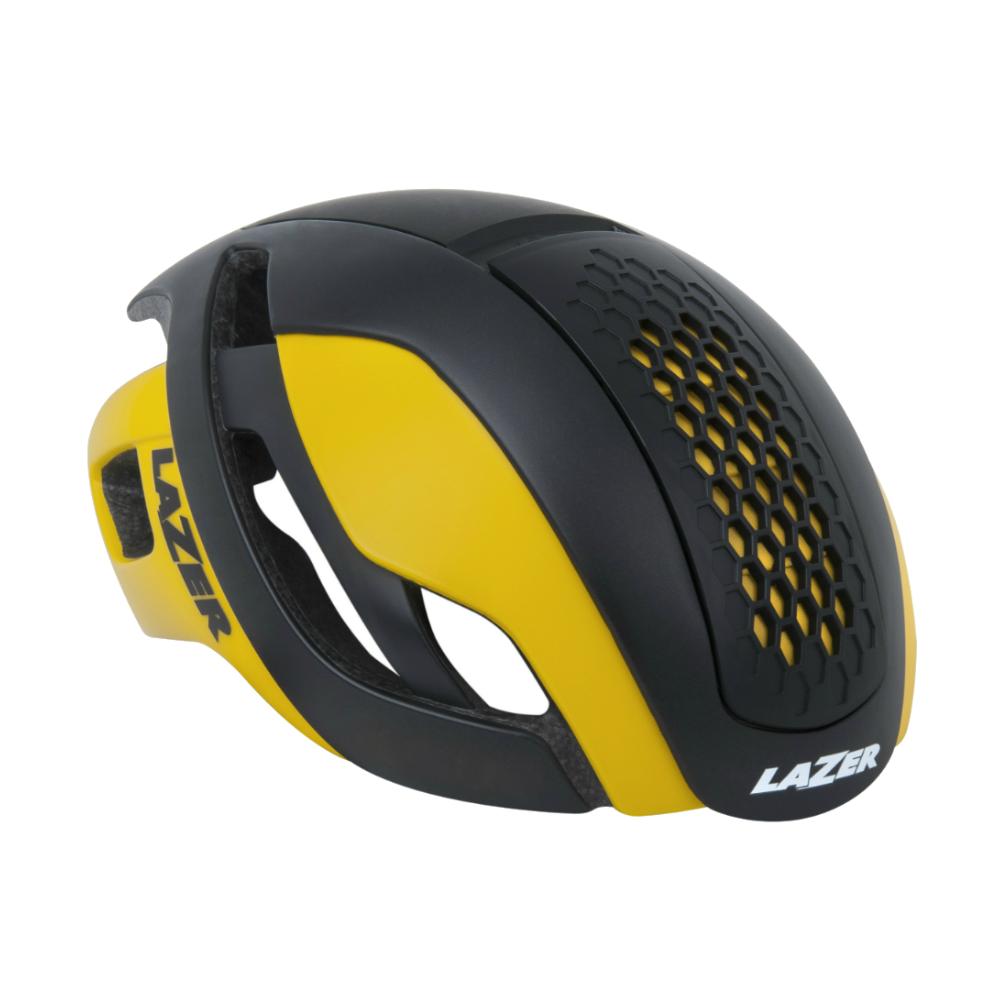 【LAZER】Bullet MIPS 空氣動力安全帽 黑/黃