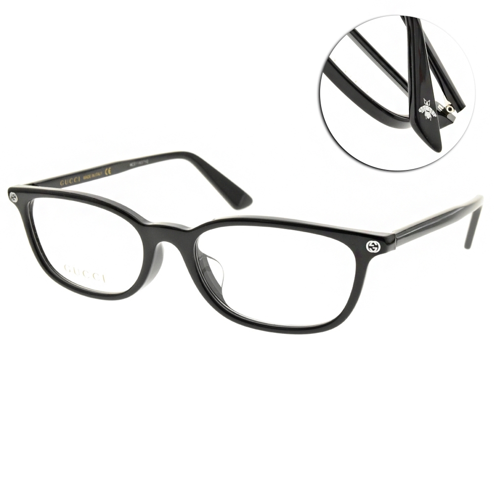 GUCCI 光學眼鏡 方框款/黑 #GG0123OJ 001