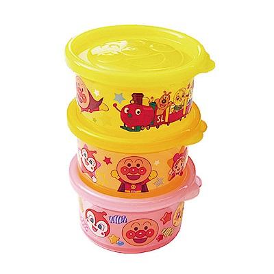 麵包超人-AN麵包超人日製圓型分裝盒3入組(小)