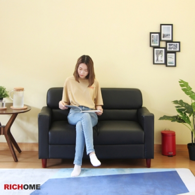 RICHOME 京都雙人沙發123x65x76CM