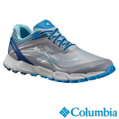 Columbia 哥倫比亞 女款-輕量野跑鞋-灰藍 UBL46330GL
