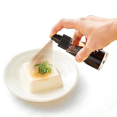 日本ASVEL輕巧型 醬油噴霧玻璃罐50ml