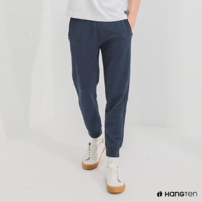 Hang Ten-男裝-REGULAR FIT束口褲-藍色