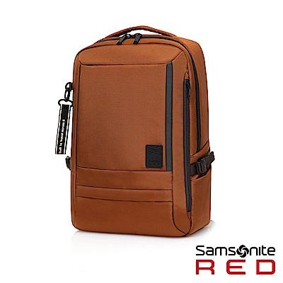 Samsonite RED PLANTPACK 2 輕量簡約筆電後背包M14(橘)