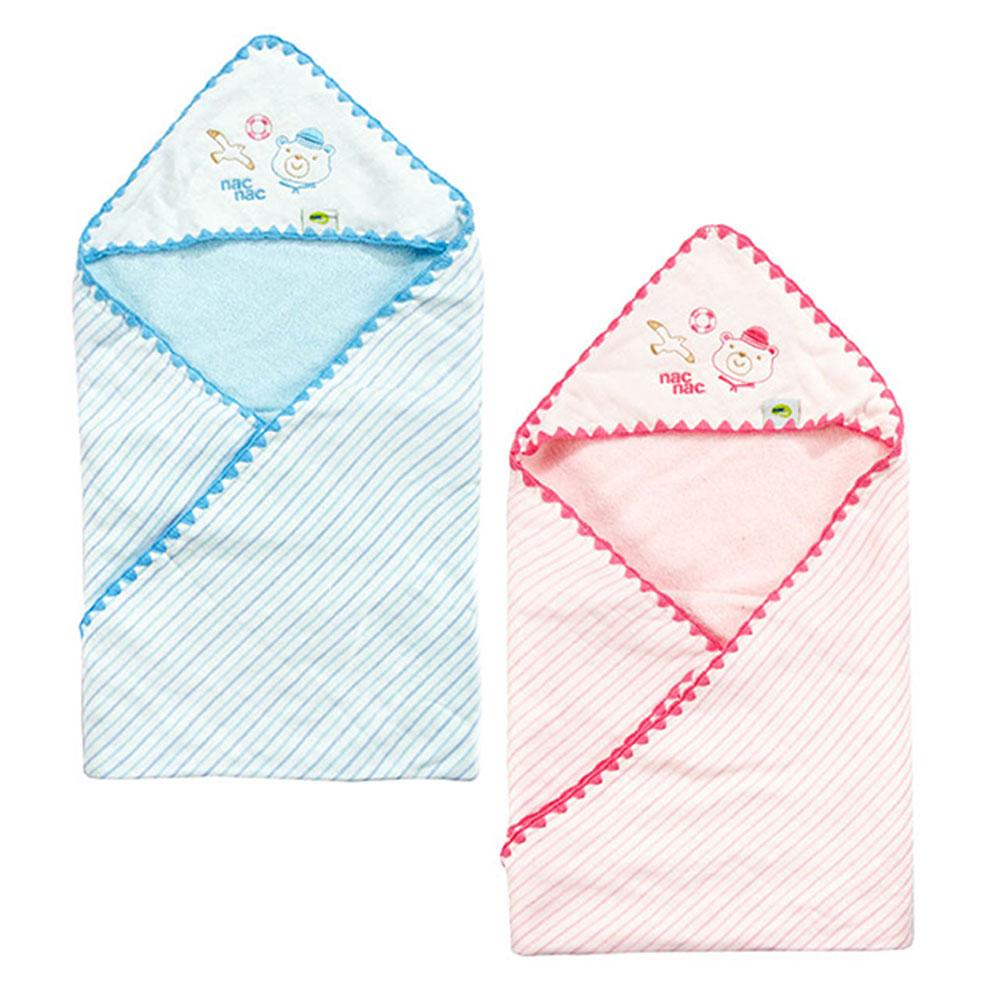 nac nac 水手熊弱撚紗包浴巾 (共2色) product image 1