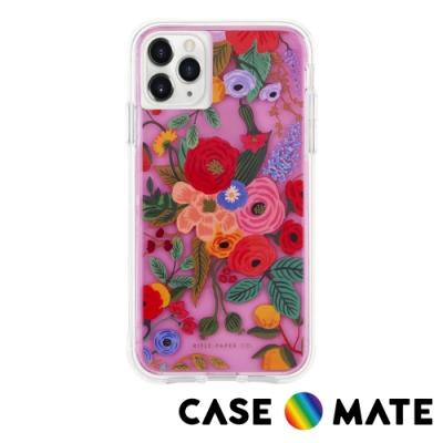 美國 Case●Mate x Rifle Paper Co. 限量聯名款 iPhone 11 Pro 防摔手機保護殼 - 花園派對 紅