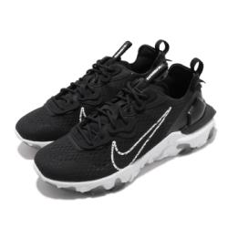 Nike 休閒鞋 React Vision 運動 男鞋 輕量 舒適 避震 簡約 球鞋 穿搭 黑 白 CD4373006
