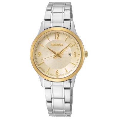 SEIKO 精工 CS 50 周年紀念款 都會石英女錶(SXDH04P1)