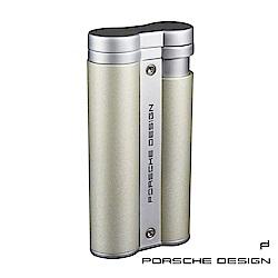 保時捷Porsche Design P3633花火焰雙筒打火機(香檳)