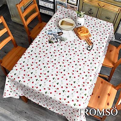 TROMSO北歐生活抗汙防水桌布-田野草莓