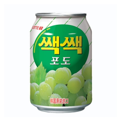 Lotte 樂天粒粒葡萄汁(238ml)