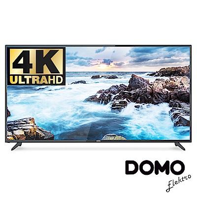 DOMO 55型4K UHD多媒體液晶顯示器+數位視訊盒(DOM-55A05K)