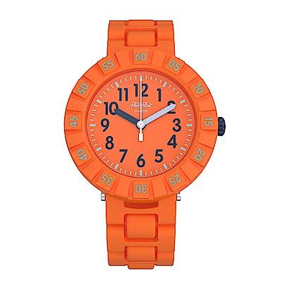 Flik Flak 兒童錶 SOLO ORANGE 純橘色調