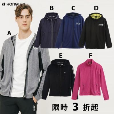 [時時樂限定]Hang Ten-ThermoContro系列男女薄款外套-六款選