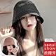 seoul show首爾秀 水桶草帽手工編織優質紙草防曬遮陽帽 product thumbnail 1