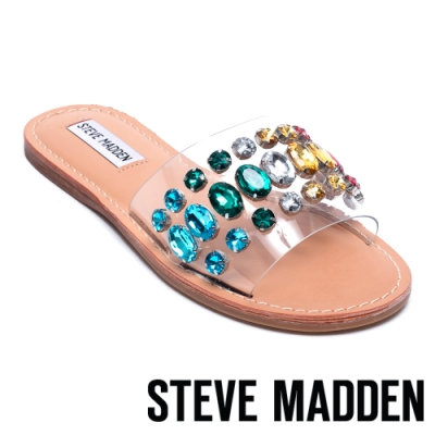 STEVE MADDEN-REGENCY 寶石鑲嵌一字拖-花色
