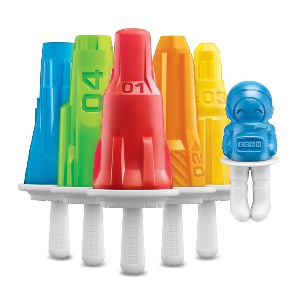 ZOKU太空系列冰棒模具組 - 6入
