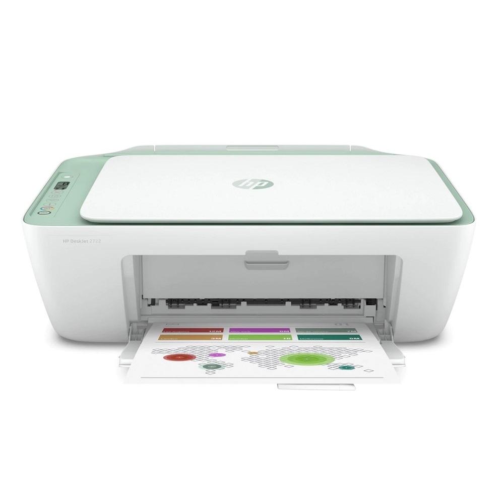 HP DeskJet 2722 彩色無線 WiFi 三合一噴墨印表機