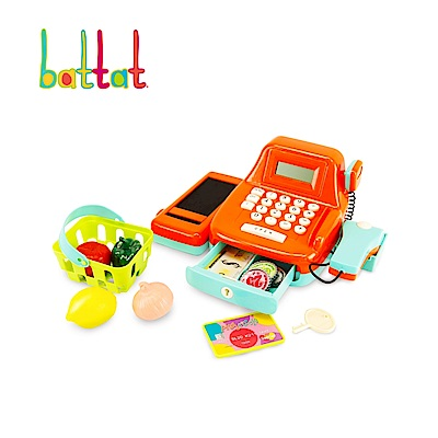 美國【Battat】露卡電子收銀機(南瓜)