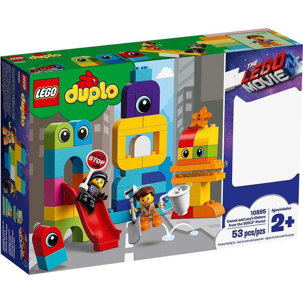 樂高LEGO Duplo 幼兒系列 - LT10895 Emmet and Lucys V