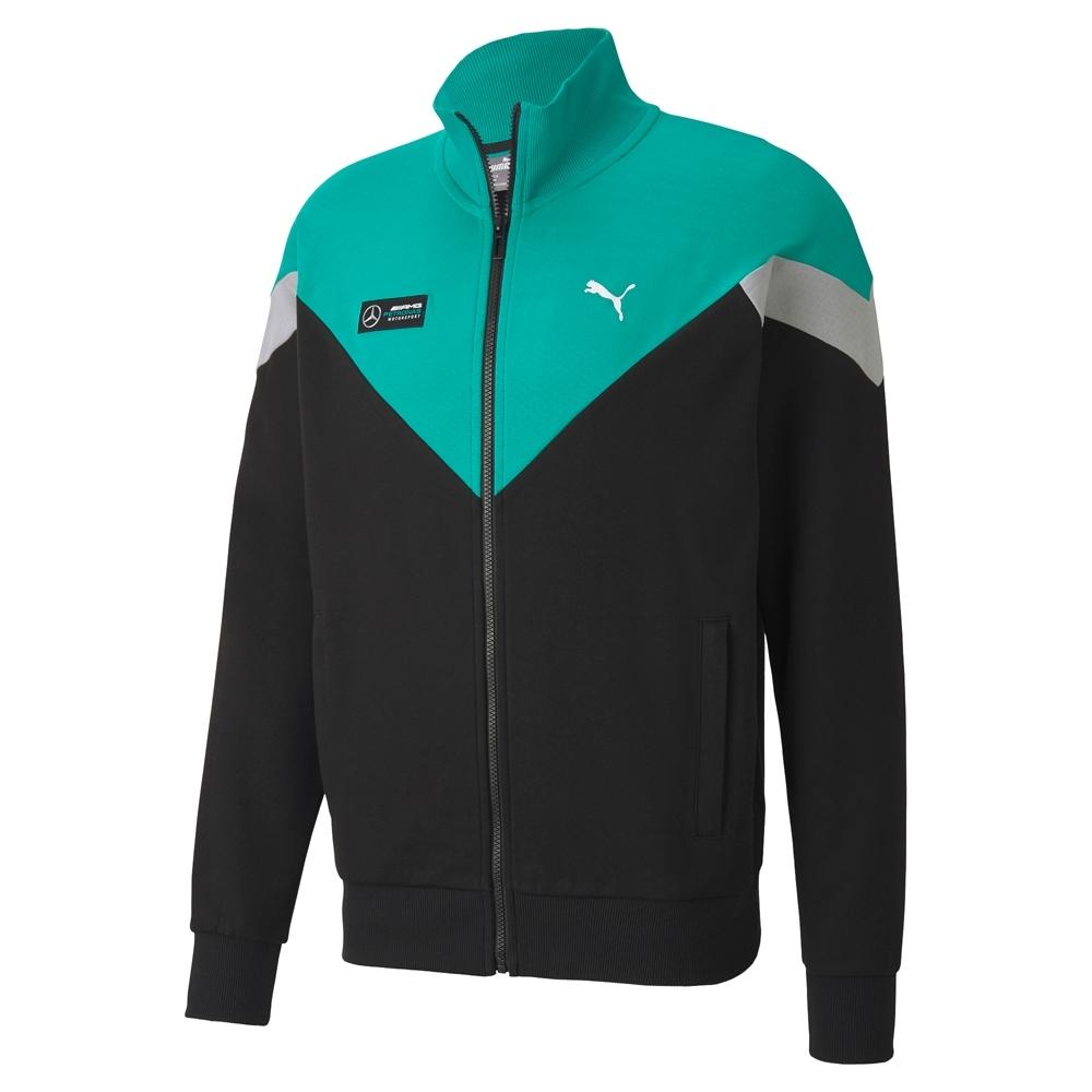 PUMA-男性賓士系列MCS立領外套-黑色-歐規