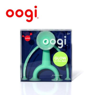 【MOLUK】瑞士創意玩具 - Oogi 麻吉好朋友- 夜光小綠人