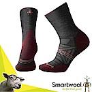 美國 SmartWool 美麗諾羊毛 女 輕量避震中筒襪(2入)_炭黑色