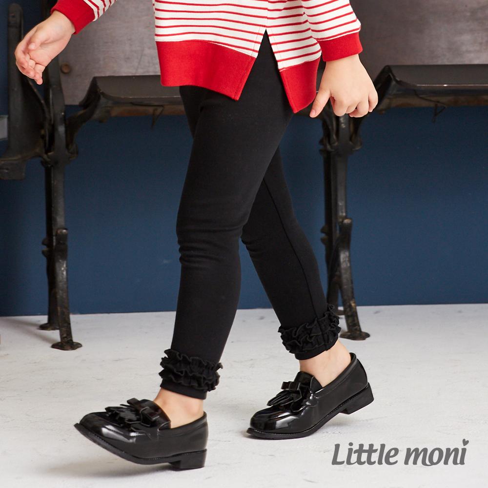 Little moni 荷葉合身褲(共2色)