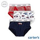 Carter's台灣總代理 消防汽車3件組三角褲
