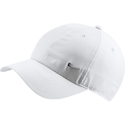 NIKE 帽子 老帽 遮陽帽 棒球帽 白 943092100 U NSW H86 METAL SWOOSH CAP