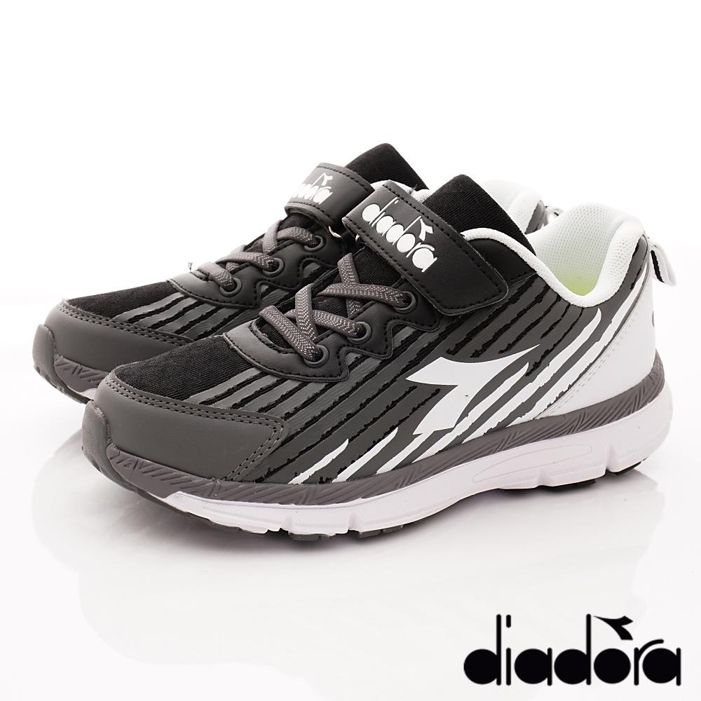DIADORA Q彈運動跑鞋款-RSE110黑(中大童段) @ Y!購物