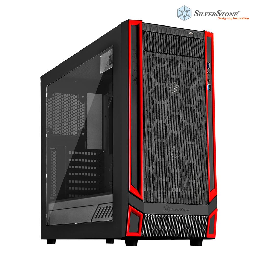銀欣 SilverStone 紅標系列 RL05BR-W 電腦機殼