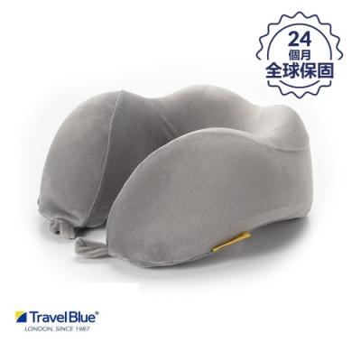 【 Travel Blue藍旅】 寧靜頸枕 / 飛機枕/ U型枕 記憶棉 Tranquillity 灰色 TB212-GY