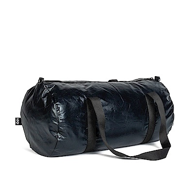 LOQI 雙面旅行袋-金屬黑 WEMMBL
