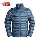 The North Face北面男款藍色保暖防潑水羽絨外套|3L9VHDC