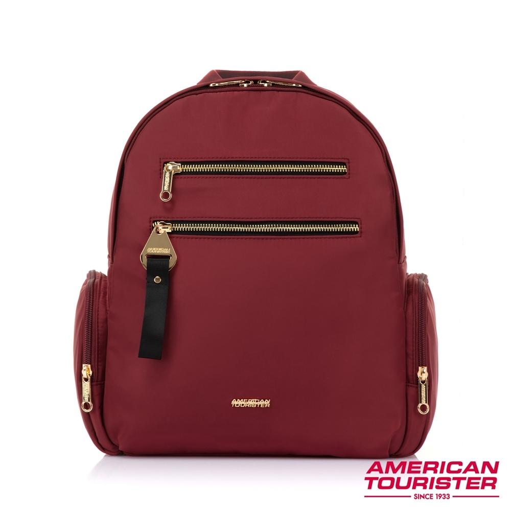AT美國旅行者 Alizee IV輕量多夾層大容量後背包(栗紅)