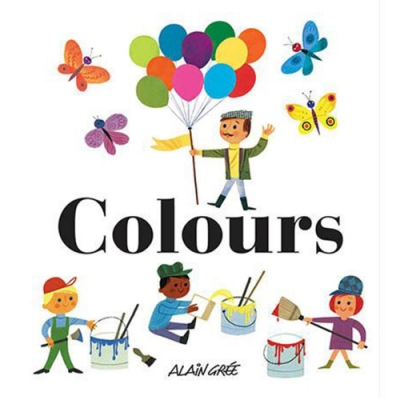 Colours 繽紛色彩 精裝繪本