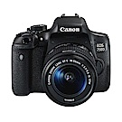 Canon EOS 750D+18-55mm IS STM 單鏡組*(中文平輸)