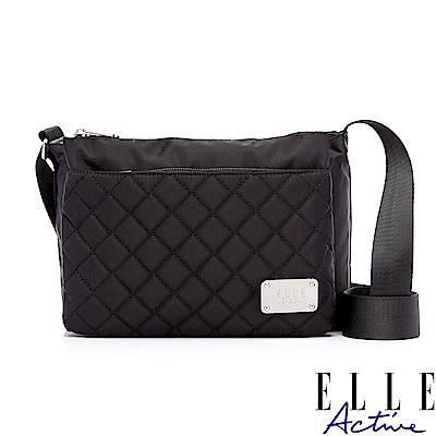 ELLE Active 生活印記系列-側背包/斜背包-小-黑色