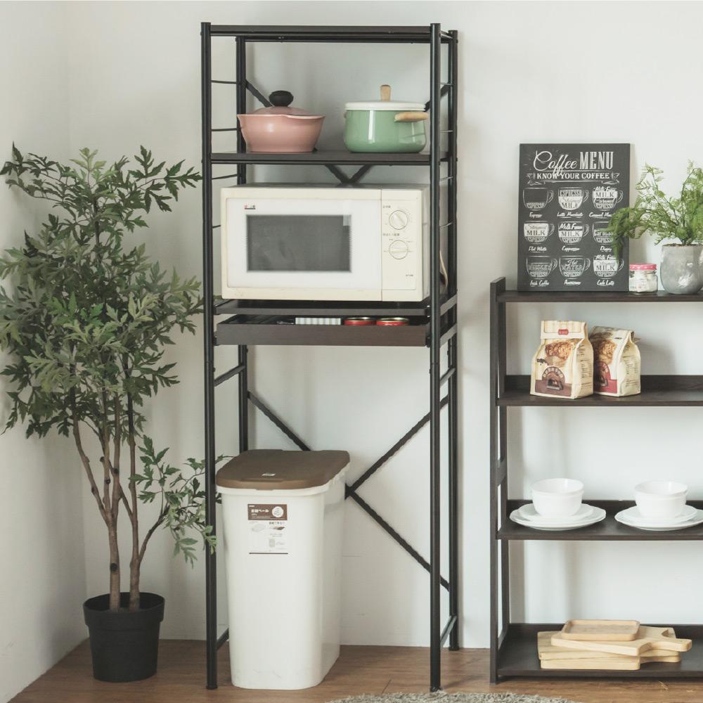 完美主義 廚房電器架/置物架/電器櫃(2色)-60x40x168
