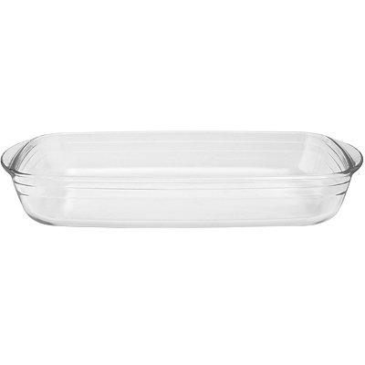 《EXCELSA》寬柄玻璃長形深烤盤(S)