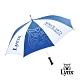 【Lynx Golf】Lynx山貓高爾夫晴雨兩用自動傘-藍色
