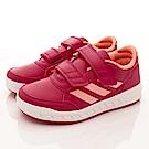adidas童鞋 超輕量學步鞋款 EI1057紅(中小童段)