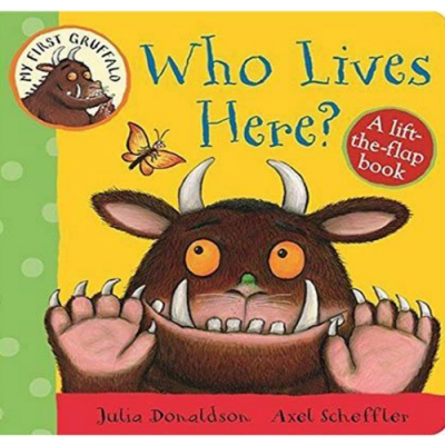 My First Gruffalo:Who Lives Here? 這是誰的家硬頁翻翻書