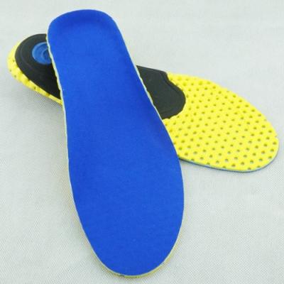 JHS杰恆社EVA足弓矯正運動鞋墊O型X型腿矯形高彈減震透氣鞋墊las45